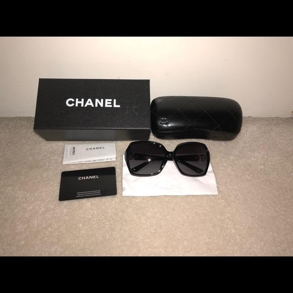 1fe8400478a6 CHANEL Accessories | Sunglasses Black New | Poshmark